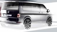 """No kompānijas """"Volkswagen"""" pienācis pirmais signāls par furgona """"Transporter"""" nākamo paaudzi – skice.., kura nesola nekā jauna. Vismaz šādā ¾..."""