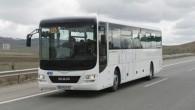"""Kompānijas """"MAN Truck and Bus"""" Turcijas filiālē, kas atrodas Ankaras pievārē, notikusi jaunā starppilsētu autobusa modeļa """"Lion's Interсity"""" pirmizrāde. Tas..."""