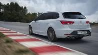 """""""SEAT"""" rūpnīcas sacīkšu komandas pilots Hordi Žene ar sportisko universālu """"Leon Cupra ST"""" ir veicis Nirburgringas Ziemeļu cilpu 7 minūtēs..."""