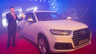 """Otrdien, 10.jūnijā Rīga, Andrejostā tika aizvadīta spoža Latvijas mēroga prezentācija jaunajam """"Audi Q7"""". Pasākumu apmeklēja ap 400 viesu. Jaudīgi dzinēji..."""