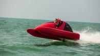"""Amerikāņu kompānija """"Marine Toys and Tenders"""" laidis tirgū neparastu braucamrīku sportiskiem vingrinājumiem uz ūdens. Ražotājs to prezentē kā revolucionāra dizaina..."""