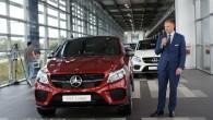 """Ceturtdien, 30.jūlijā """"Mercedes-Benz"""" pilnvarotā pārstāvja """"Domenikss"""" telpās preses pārstāvjiem tika prezentēts nu arī Latvijā nonākušais kupejveida krosovers """"Mercedes-Benz GLE Coupe""""...."""