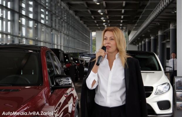 """Labu ceļavēju """"GLE Coupe"""" vēlē Benita Sadauska"""