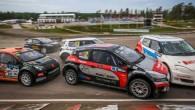 """Latvijas rallijkrosa braucējs Jānis Baumanis palielinājis pārsvaru Eiropas čempionāta """"Super 1600"""" klases kopvērtējumā pēc uzvaras seriāla ceturtajā posmā, kas norisinājās..."""