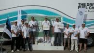 """Sestdien, 25. jūlijā sporta kompleksā ''333'' tika aizvadīts """"Volvo Trucks"""" ekonomiskas auto vadīšanas sacensību 'The Drivers' Fuel Challenge' Baltijas valstu..."""