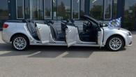 """Ingolštates kompānijas Bavārijas nodaļas entuziasti reklāmas kampaņas """"Audi Sommer"""" ietvaros izgatavojuši neparastu """"A3 Cabrio"""" versiju. """"A3"""" kabrioletam ir krietni pastiepta..."""