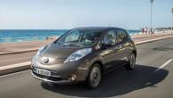 """Piecvietīgais elektriskais ģimenes auto """"Nissan Leaf"""", kurš tirgū debitēja 2011.gadā saņēmis ievērojamus uzlabojumus. Tam esot uzlabotas tehnoloģijas akumulatoru baterija un..."""