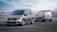 """Frankfurtes autošovā """"Volkswagen"""" komerctransporta nodaļa """" Volkswagen Commercial Vehicles"""" izrādīs arī jaunās paaudzes """"VW Caddy"""" furgoniņa versiju ar bezceļu automobiļa..."""