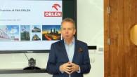"""""""Orlen"""" galvenais ekonomists Adams Cžiževskis iepazīstinaja ar tencencēm degvielas tirgū"""