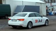 """Jauno A4 raksturo gan jaunākā """"Audi"""" stilistika, gan nevainojamas proporcijas"""