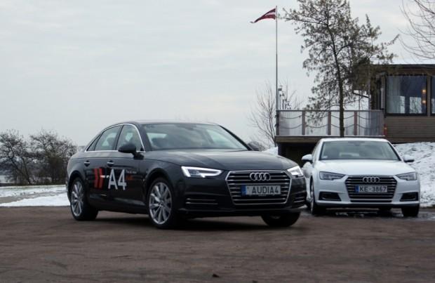 """Virsbūves līnijas un detaļu aprises jaunākajā """"Audi"""" stilistikā kļuvušas jūtami 'asākas'"""