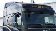 """Par godu """"Volvo Trucks"""" 20 gadu ļoti veiksmīgai darbībai Latvijā, zviedru kravas auto ražotājs ir izlaidis īpašu zīmola flagmaņa """"Volvo..."""