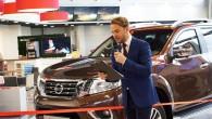 """Piektdien, 22.aprīlī """"Nissan"""" pilnvarotais pārstāvis Latvijā SIA """"Norde"""" presei un lūgtiem viesiem atklāja pēc jaunākās, Eiropas mēroga mazumtirdzniecības koncepcijas pilnveidoto..."""