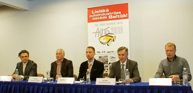 Izstades Auto 2016 preses konference 01