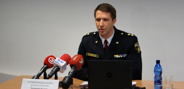 Policijas sefs Normunds Krapsis