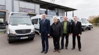 """Viens no Latvijas pasažieru pārvadātājiem – akciju sabiedrība CATA – savā īpašumā ieguvis piecus """"Mercedes–Benz Sprinter 514 CDI"""" autobusus. Tie..."""