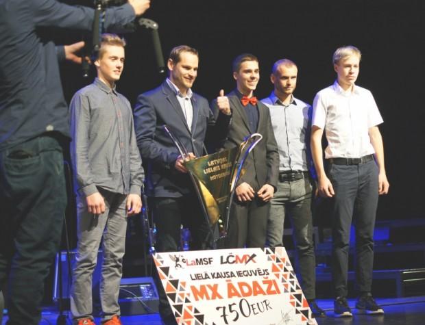 """Labākais klubs 2016.gadā - """"MX Ādaži"""""""