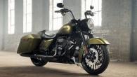 """Amerikāņu kulta motociklu ražotājs """"Harley-Davidson"""" izlaidis jaunu 2017.gada """"Road King Special"""" versiju. Motocikls aprīkots ar svaigāko Milwaukee-Eight motoru, jaunu priekšējo..."""