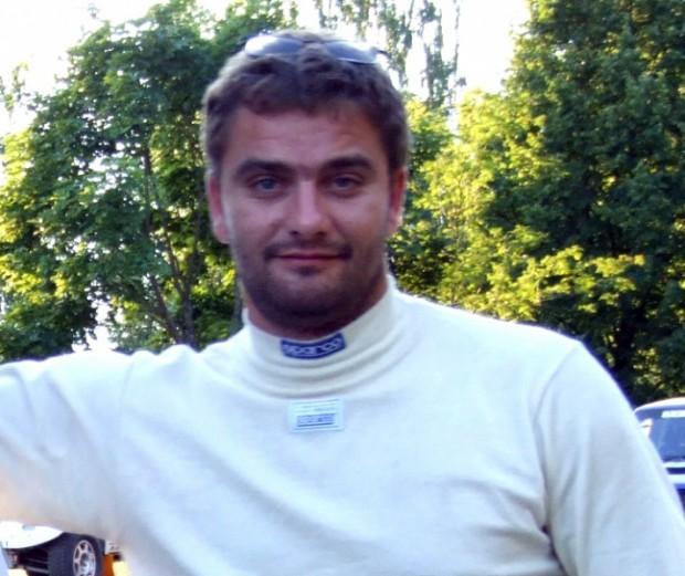 """Artūrs Melnis rallijreidu pilota lomā sacensībās """"Belarus Baja 2006"""""""