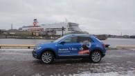 """Volkswagen"""" pērnā gada novembrī iekustināja sava līdz šim mazākā krosovera """"T-Roc"""" ražošanu. Nu šis 'svaigais pīrādziņš' sasniedzis arī Baltiju. Rīgā..."""