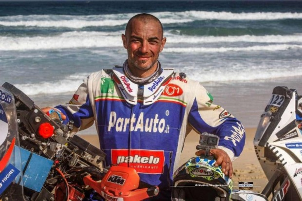 Paolo Čeči šī ir pirmā lielā uzvara vienā no pasaules grūtākajiem rallijreidiem