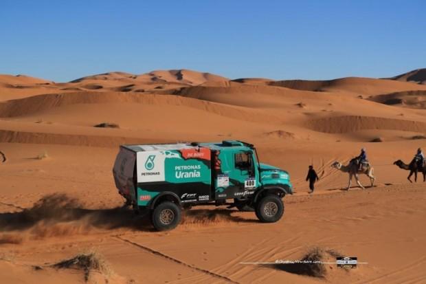Starp kravas automobiļu ekipāžām veiksmīgākie ir Žerāra De Roja komanda