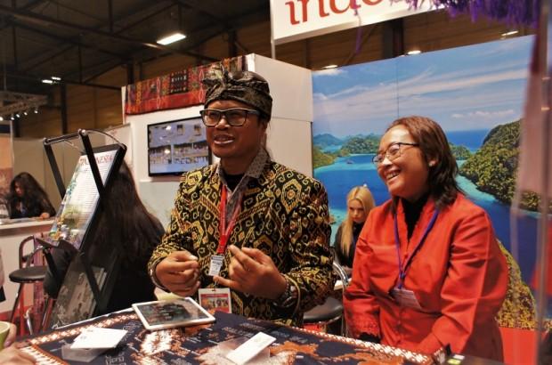 Eksotiskās Indonēzijas pārstāvji