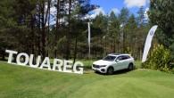 """Otrdien, 26.jūnijā Jaunmārupē, golfa klubā """"Viesturi"""" noritēja jaunā trešās paaudzes """"Volkswagen"""" krosoveru saimes ciltstēva """"VW Touareg"""" prezentācija. """"AutoMedia Latvia"""" piedāvā..."""