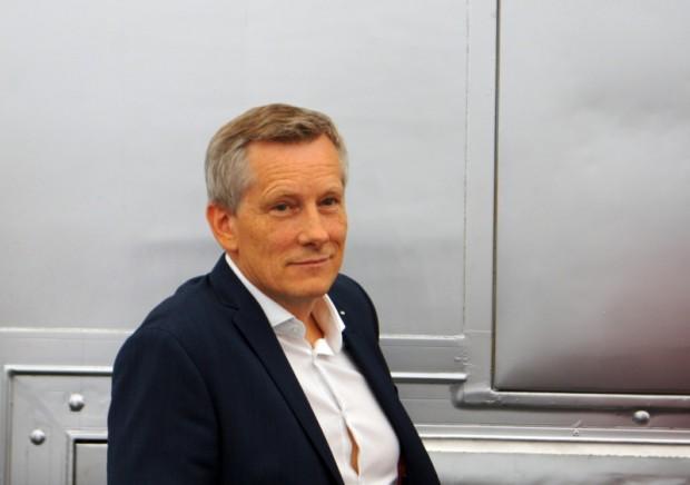 """""""Audi"""" zīmola vadītājs Lietuvā un Latvijā izskatās apmierināts ar lietuviešu projekta realizēšanos"""