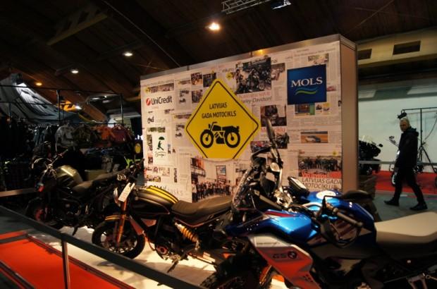 """Konkurss """"Latvijas Gada motocikls 2019"""" bija pārstāvēts arī nesen aizvadītajā izstādē """"Outdoor Riga 2019"""""""