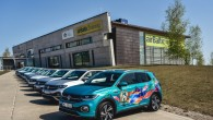 """Pirmdien, 29.aprīlī Rīgā, airBaltic Training Center tika prezentēts jaunais, kompaktais krosovers """"VW T-Cross"""". Latvijā tā sākuma cena ir 15990 eiro,..."""