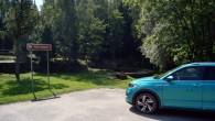 Vaives dzirnavu auto stāvlaukums