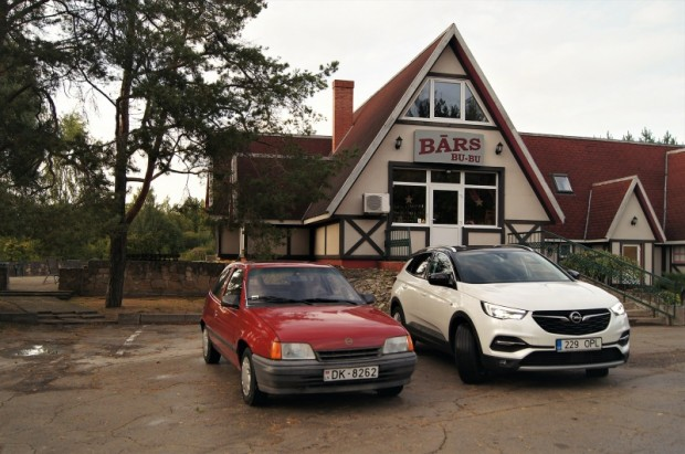 """Opel Kadett"" un ""Grandland X"""