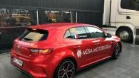 Nedēļu pēc manis, būdams Rīgā WorldRX sacensību laikā, to pašu mašīnu izmantoja slavenais autosporta pilots Girlēns Šišerī