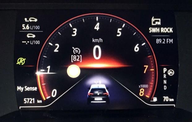 Arī par benzīna patēriņu būtu grēks žēloties. Vidēji 5,6 litri uz 100 km. Speciāli netaupot