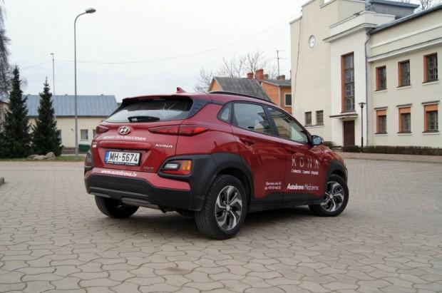 """Hibrīdversija ir jaunums """"Hyundai Kona"""" piedāvājumā"""