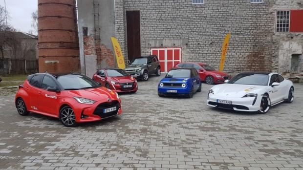 Igaunijas Gada Auto 2021 fināla pretendenti
